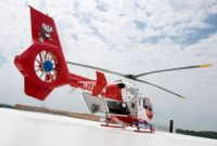 UW Health Med Flight helicopter