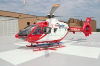 University of Wisconsin Hospital and Clinics Med Flight rescue ambulance