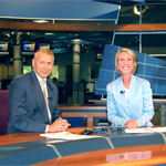 Susan Siman and Mark Koehn from WISC-TV