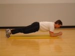 Plank Pose Option 3