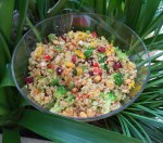 Quinoa, Pepper and Peanut Salad; Advances Recipe of the Month, UW Carbone Cancer Center
