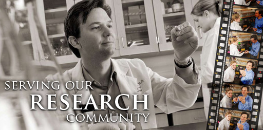 Serving our research community