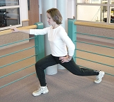 Advances Activity Avenue - Reverse Lunge; Advances e-Newsletter, UW Carbone Cancer Center