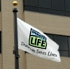 Donate Life flag for Flags Across America
