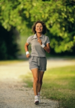 Woman exercising; UW Health dietitians provide weight management assistance to pediatric and adult patients
