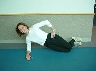 Advances Activity Avenue, Side Plank Option 1 Demonstration