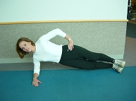 Advances Activity Avenue, Side Plank Option 2 Demonstration
