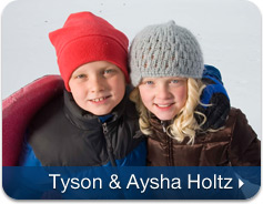 Tyson and Aysha Holtz