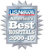 U.S. News and World Report: America's Best Hospitals, 2009-2010