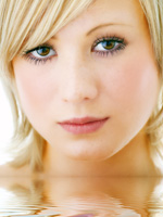woman's face; Jeune Skin Care Ask the Experts: How can I get rid of brown spots on my face? - Jeune Skin Care, Madison, Wisconsin