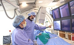 UW Health Heart Rhythm Disorders Cardiac Catheterization: Surgeons in surgery