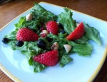 Donna's Leafy Green Salad with Fresh Berries and Macadamia Nuts
