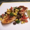 Sassy Salmon with Black Bean Salsa