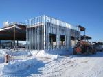 Exterior wall framing, Generations Fertility Care Construction