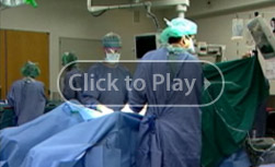 Robotic prostatectomy surgery operating room