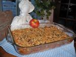Recipe of the Month: Apple Cranberry Walnut Bread Pudding