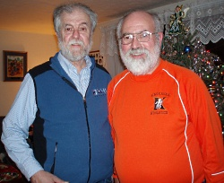 Organ donor and recipient Jim and Jerry Brien