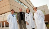 Four providers from UW Health's Beaver Dam Clinic