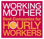 Working Mother Best Companies for Hourly Workers logo