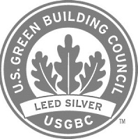 U.S. Green Building Council's Silver Certification logo