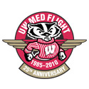 UW Med Flight 25th anniversary logo