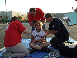 Scene from 2010 EMS Olympics