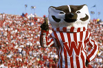 Bucky Badger will be at the UW Health Yahara Clinic Open House on Saturday