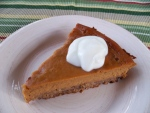 Sweet Potato Pie; Donna's Recipe of the Month