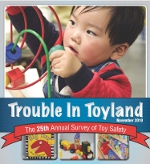 The 25th annual Trouble in Toyland toy safety report.