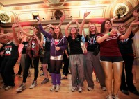 Dancers at the Wisconsin Dance Marathon
