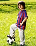 American Family Children's Hospital's Pediatric Pathways: Kid with a soccer ball