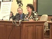 Lisa Maroney and Dr. Paul Grossberg speak of Senate Bill 30
