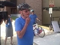 Dan Lester talks about his 60 mile ride
