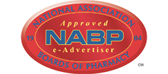 NABP e-Advertiser Approval Seal