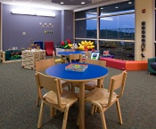 The Child Life Playroom at American Family Children's Hospital