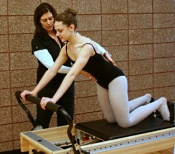 UW Health Sports Rehabilitation Dancers Clinic: Dancer and therapist