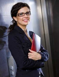 UW Health Eye Care and Optical Shops: Woman with glasses
