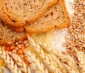 Try to select whole grains for your carbohydrates.