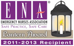 Emergency Nurses Association Lantern Award Logo