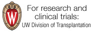UW Division of Transplantation: For academic and research information