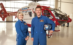UW Hospital and Clinics critical care nursing: Two nurses and the Med Flight helicopter