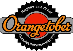 UW Organ and Tissue Donation Orangetober imagery