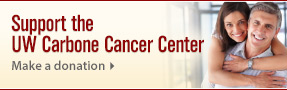 UW Carbone Cancer Center: Connect, Share, Give. Get Involved.