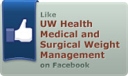 Like UW Health Medical and Surgical Weight Management on Facebook