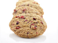 Apple Cranberry Breakfast Cookies