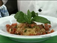 Spgahetti Squash with Fresh Tomato Basil Sauce; Cooking Outside the Box with Chef John