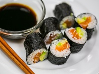 Want to learn how to make sushi? The Learning Kitchen has classes that will have you rolling your own.