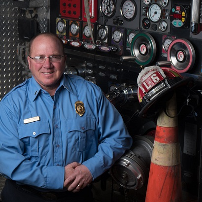 Clinical Trial Helps Firefighter Thrive Despite the Odds