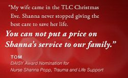 Nominate a TLC nurse for a DAISY Award