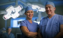 UW Health Transformations television spot: Two physicians in operating room